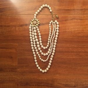 Tiered Kate Spade Pearl Necklace